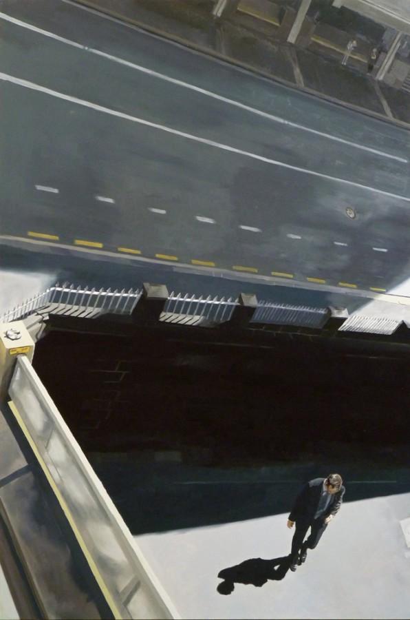 Bridge Triptych (right panel) / oil on board / 122 x 81cm / 2011