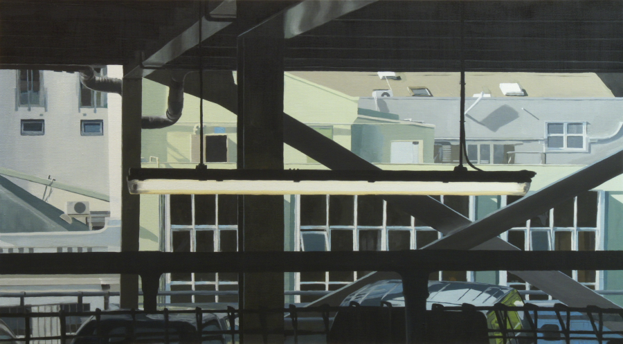 CP7 (flouro-restricted) / oil on linen / 76 x 137cm / 2010