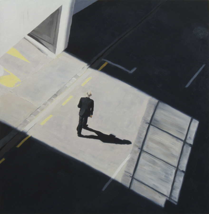 Entrance / oil on board / 61 x 61 cm / 2012