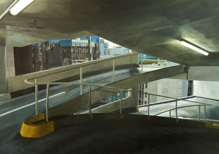 Level (CP8) / oil on linen / 120 x 170cm / 2010 / Private Collection