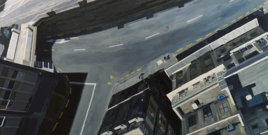 Lower level / oil on board / 61 x 121 cm / 2012
