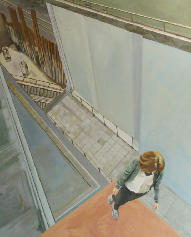 Roof / oil on canvas / 160 x 130cm / 2008