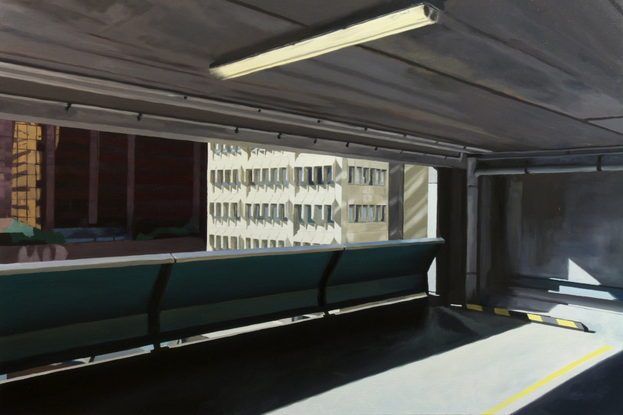 Untitled (CP1) / oil on linen / 92 x 137cm / 2010 / Private Collection