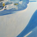 Pool 01 /oil on board / 61 x 61 cm / 2013 thumbnail