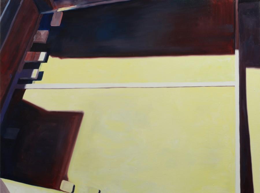 Yellow Light / oil on canvas / 82 x 111cm / 2015