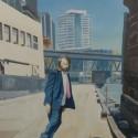 Wharf Skater / 122 x 91 cm / oil on canvas / 2016 thumbnail