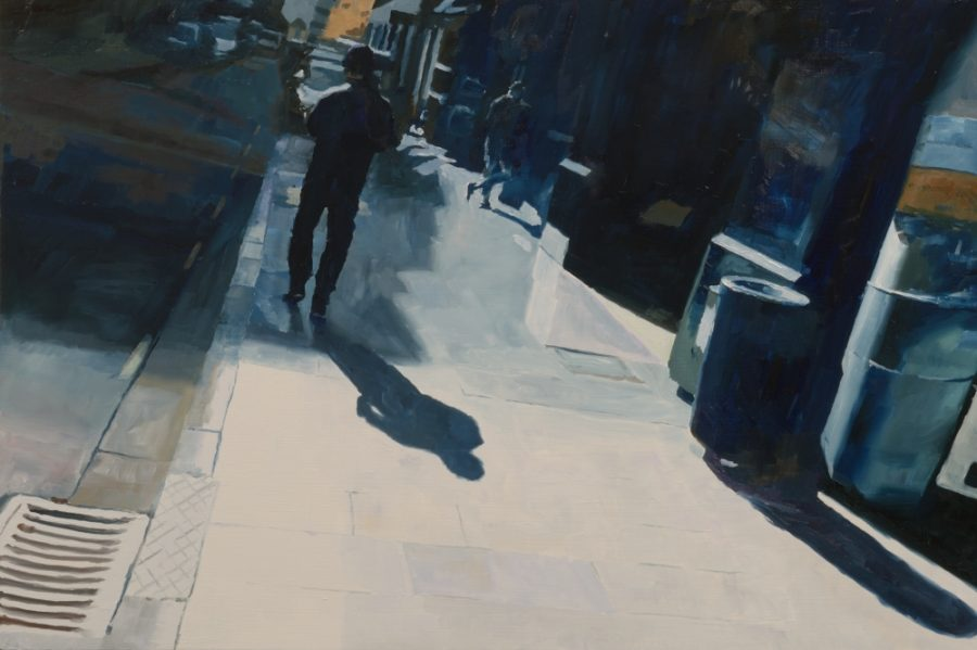 High Street / oil on board / 40 x 61 cm / 2016 / Private collection