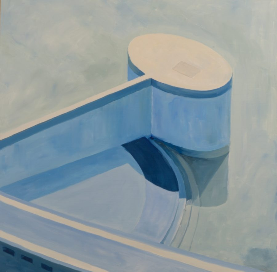 Pool 03 / 60 x 60 cm / oil on board / 2016