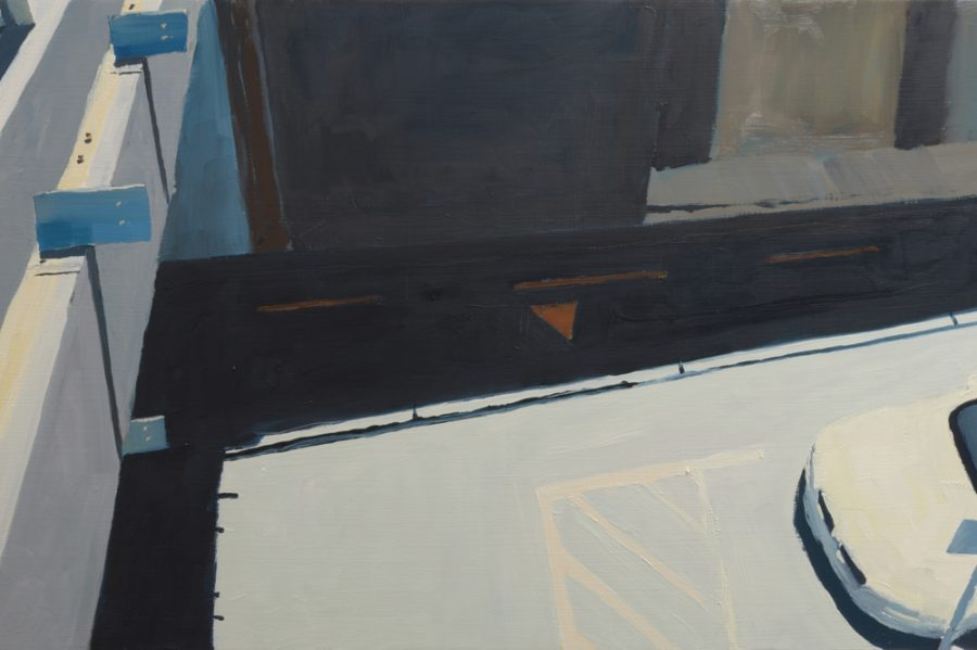 Lower Albert Street 02 / oil on board / 38 x 60 cm