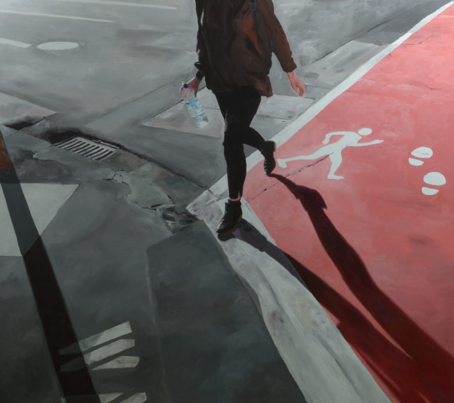 WAlk / Oil on canvas / 152 x 169 cm / 2017