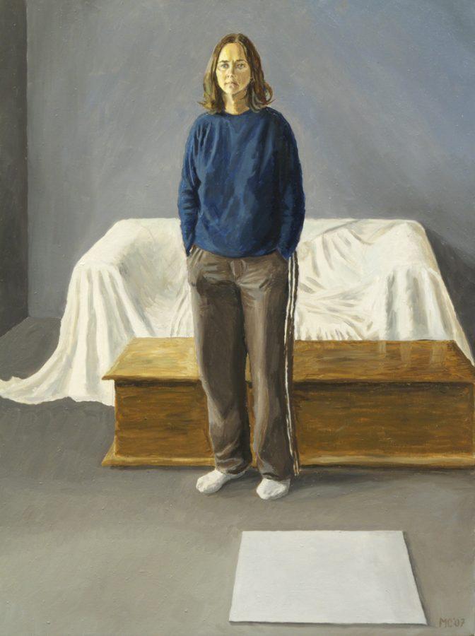 Anita Standing / oil on canvas / 64 x 50 cm / 2007
