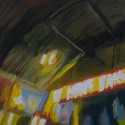 Queen St Liquor Bank / oil on board / 18 x 18 cm / 2018 thumbnail