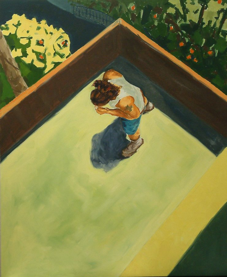 Man on Deck / oil on canvas / 120 x 100 / 2008