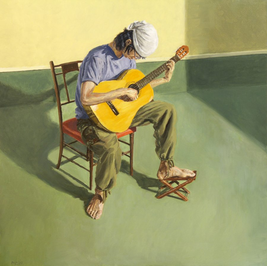 Kotaro / oil on canvas / 76 x 76 / 2007