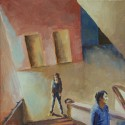 Stairwell / oil on canvas / 30 x 30 cm / 2008 thumbnail