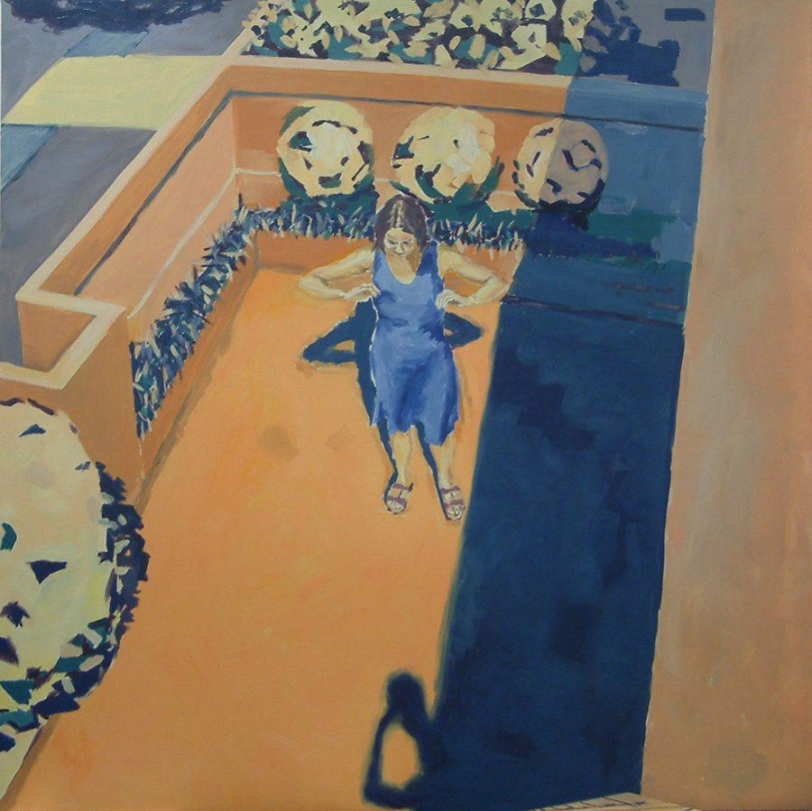 Susanna & the Elders / oil on canvas / 120 x 120 cm / 2008