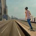 Expressway Skater ii / Oil on board / 82 x 122 cm / 2018 thumbnail