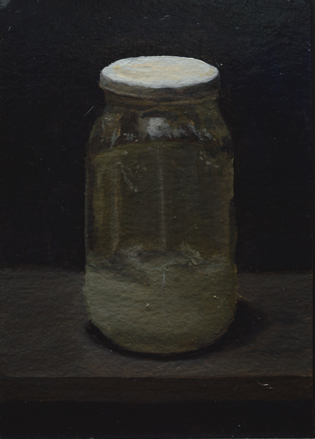 Artist's Materials 03 / Oil on card / size A6 / 2018