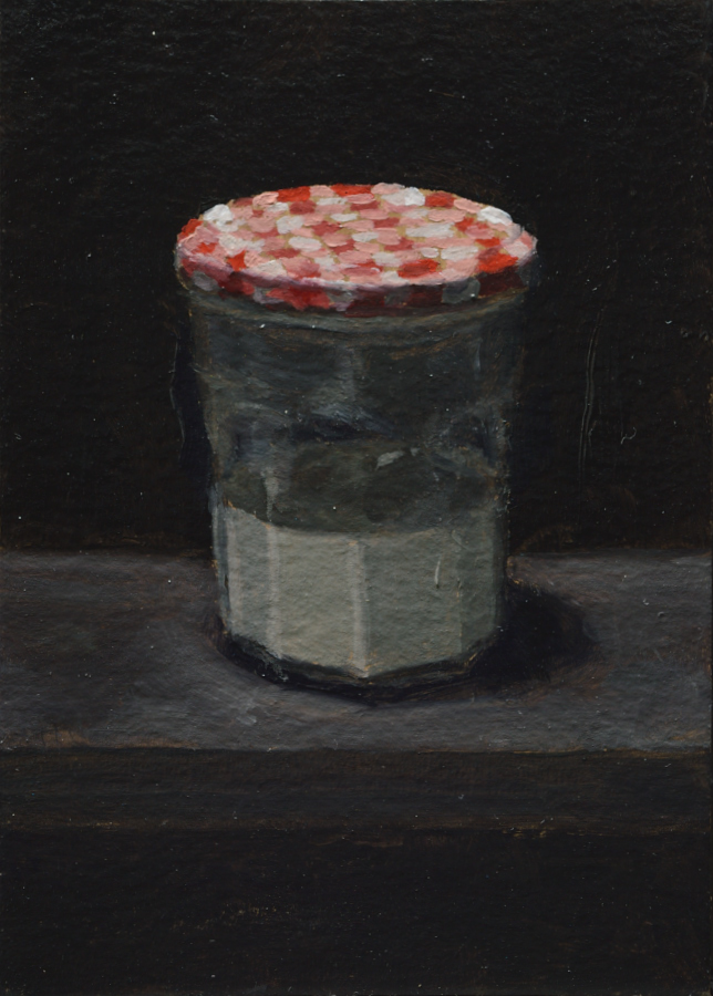 Artist's Materials 10 / Oil on card / size A6 / 2018