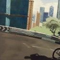 BMX 02 / oil on board / 81 x 121 cm / 2012 thumbnail