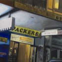 Backpackers / oil on linen / 91 x 152cm / 2010 thumbnail