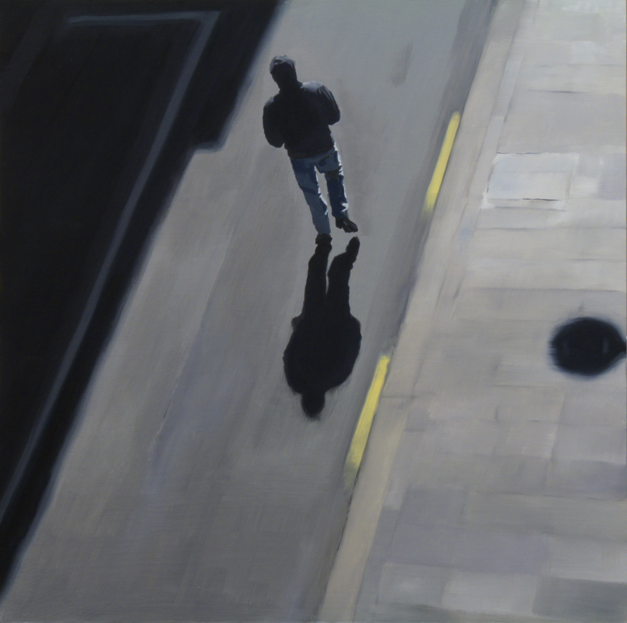Hoodie / oil on board / 61 x 61 cm / 2012 / Private collection