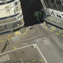 Strange Intersection / oil on linen / 76 x 137cm / 2010 / Private collection thumbnail