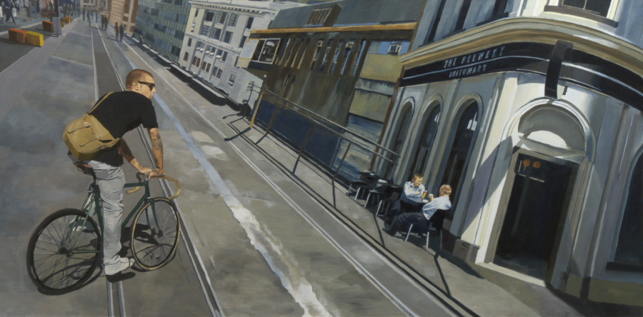 The Brewery Britomart / oil on board / 61 x 121cm / 2012 / Private Collection