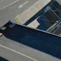 Right panel - Auckland Diptych / oil on linen / 80 x 110 cm / 2014 / Private Collection thumbnail