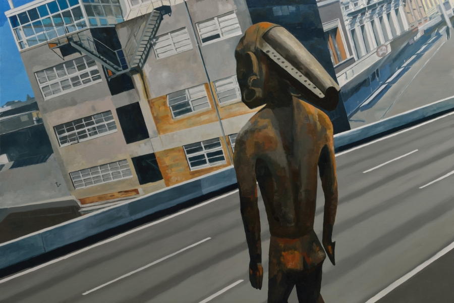 Munge-Dukna / oil on linen / 120 x 170 cm / 2014