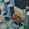 Wireless 2 / oil on board / 30 x 30cm / 2015 thumbnail