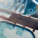 Laptop / oil on canvas / 820 x 111cm / 2015 thumbnail