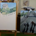 Hamilton Triptych in progress thumbnail