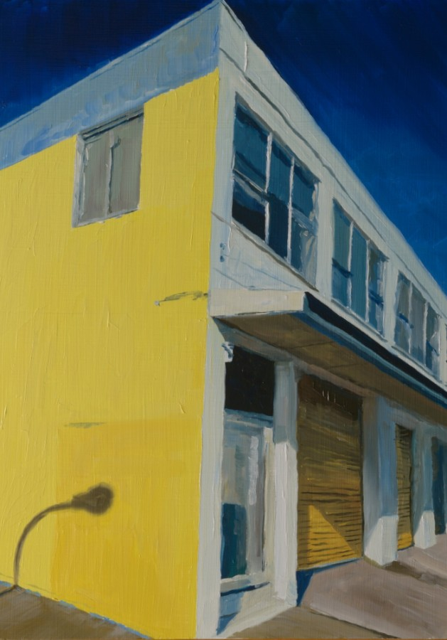 Yellow Wall / 40 x 30 cm / oil on board / 2015 / Private collection