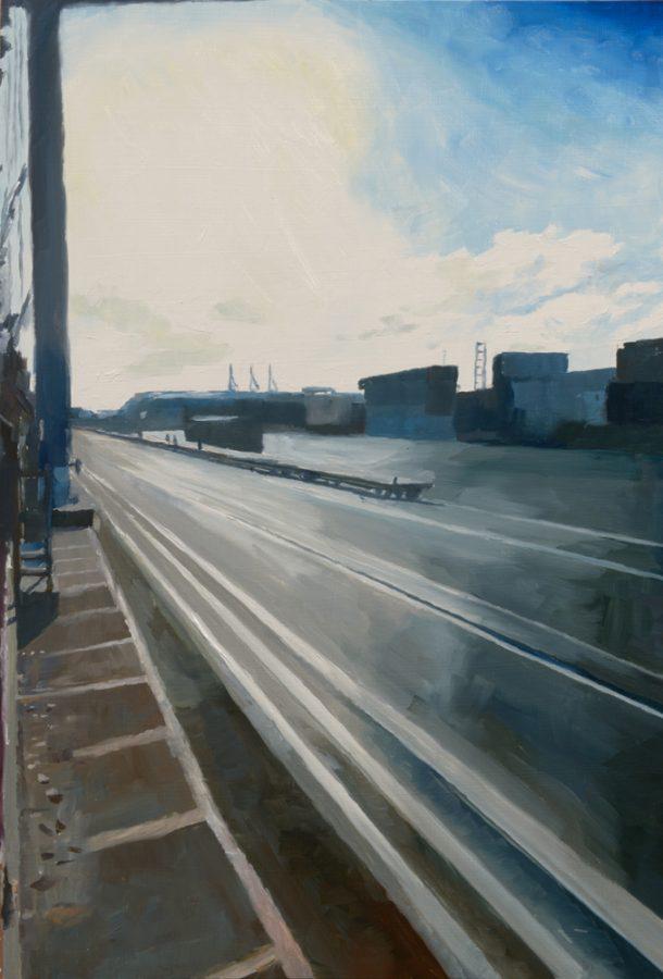 Port 01 / oil on board / 40 x 30 cm / 2016