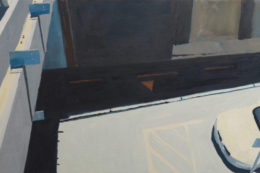 Lower Albert Street 02 / oil on board / 38 x 60 cm / 2017