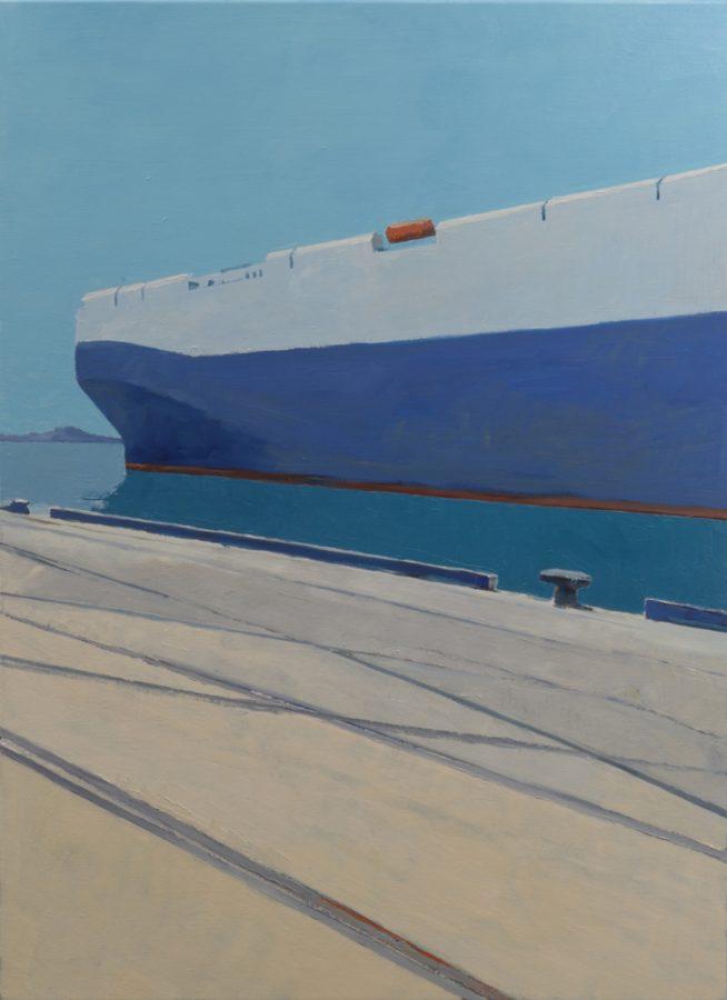 Ship / oil on canvas / 110 x 80 cm / 2017