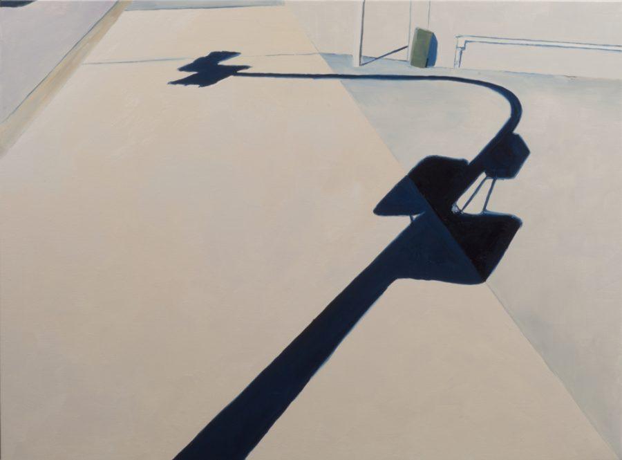 Traffic light / oil on canvas / 90 x 120 cm / 2017