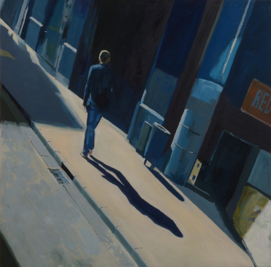 High Street 02 / oil on canvas / 76 x 76 cm / 2017 / Private collection