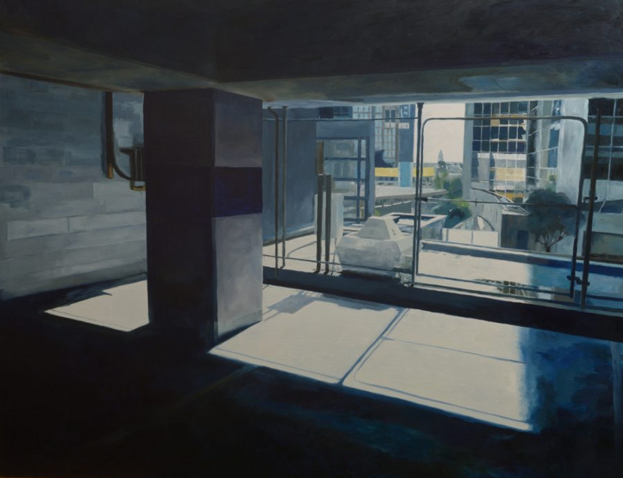 Car Park 10 / oil on canvas / 129 x 160 cm / 2016 / Private collection