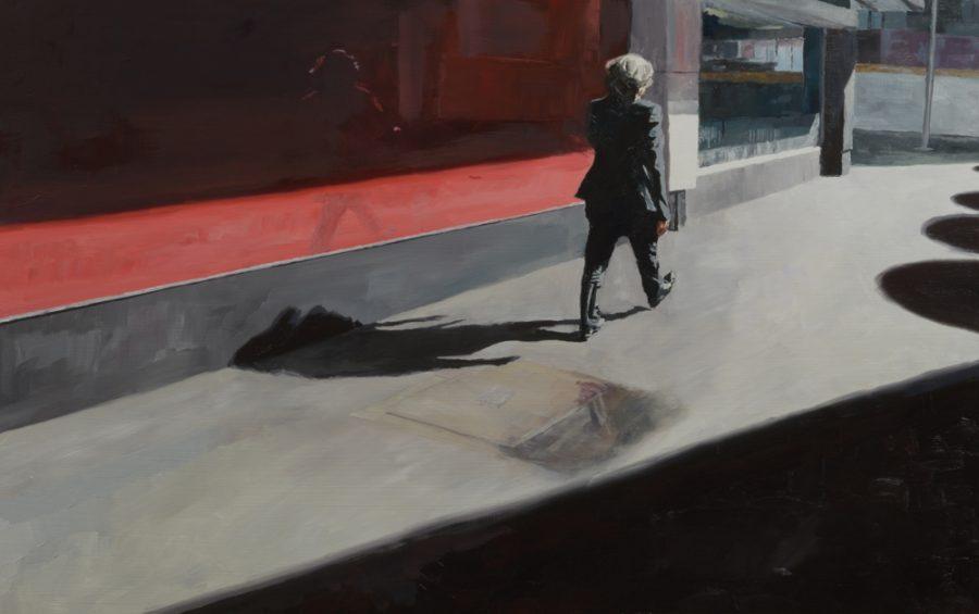 Red Window / oil on board / 50 x 80 cm / 2017