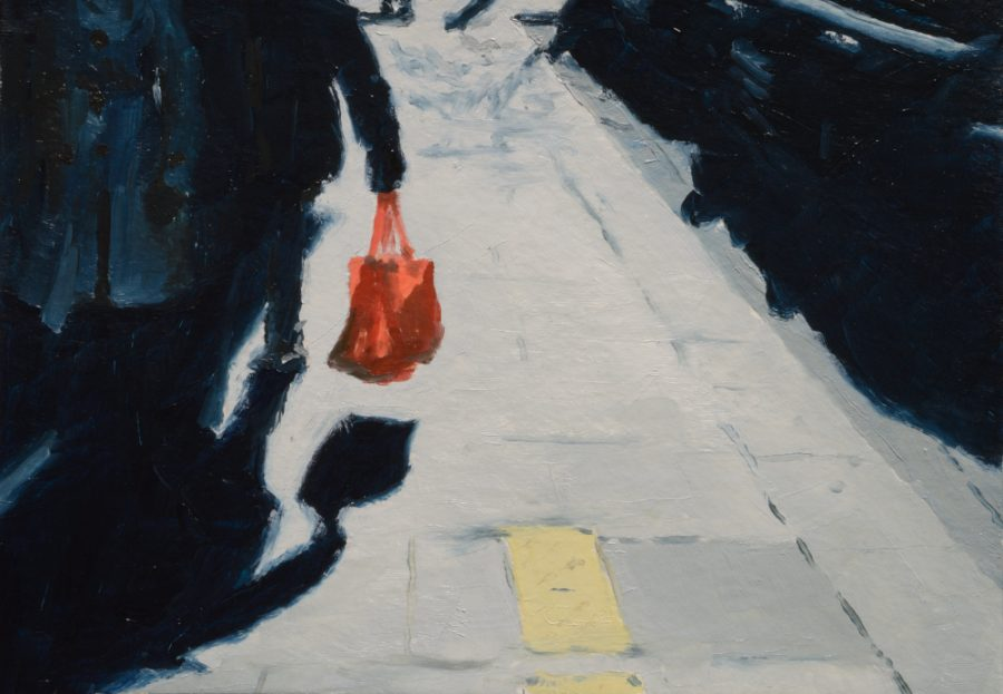 City Works 02 / oil on paper / 105 x 148 mm
