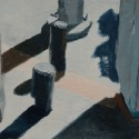City Works 03 / oil on paper / 105 x 148 mm / Private collection thumbnail