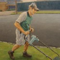 Murray Martin / oil on canvas / 76 x 76 cm / 2007 / Private collection thumbnail