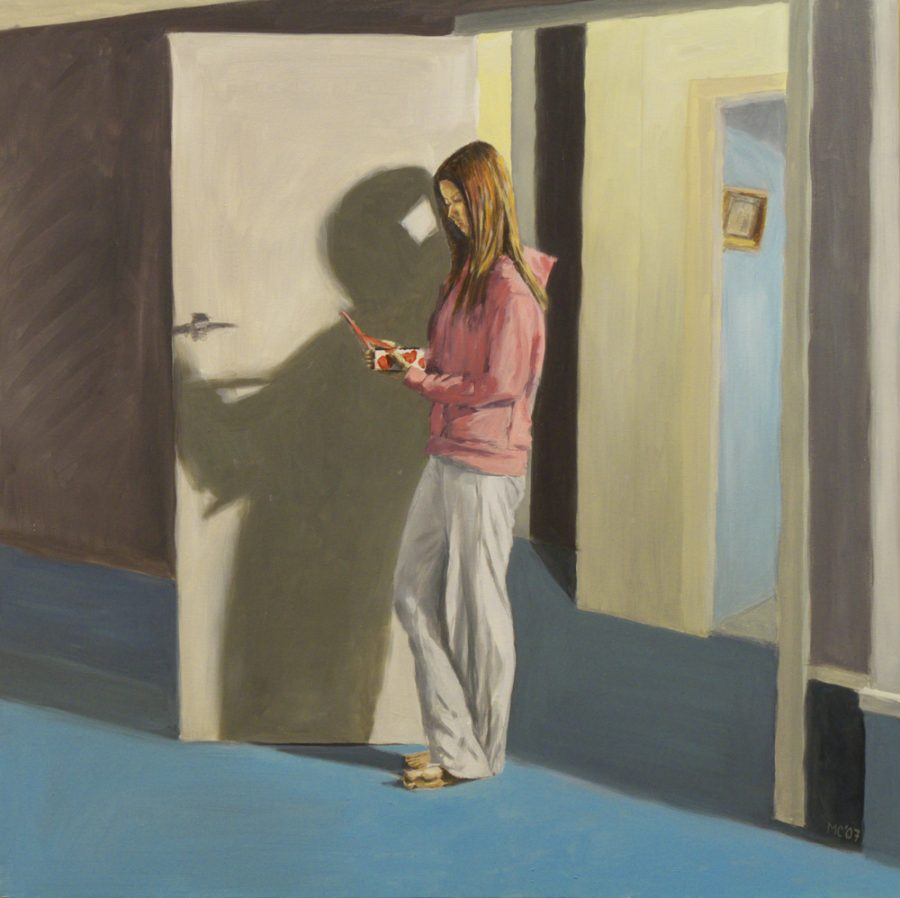 Kate / oil on canvas / 76 x 76 cm / 2007