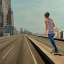 Expressway Skater ii / Oil on board / 82 x 122 cm / 2018 thumbnail