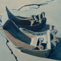 Excavator buckets / oil on board / 35 x 30 cm thumbnail