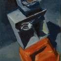 Post Box / oil on canvas panel / 23 x 18 cm thumbnail