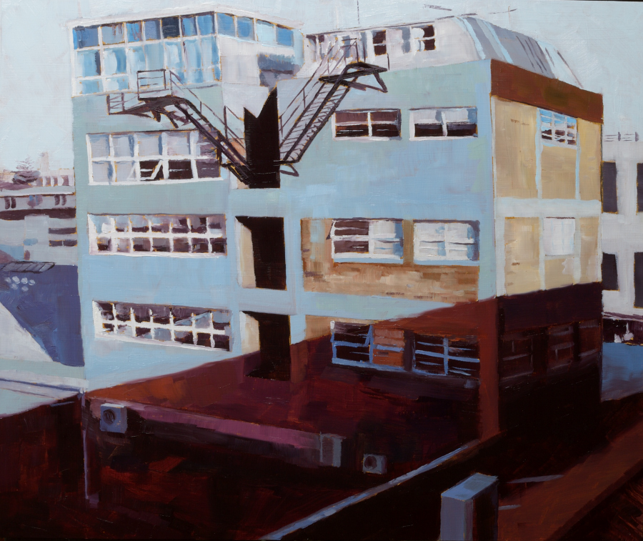 Hayes Building / oil on board / 50 x 60 cm