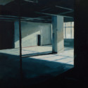 Post Office interior / oil on board / 32 x 30 cm thumbnail